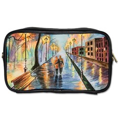 Just The Two Of Us Travel Toiletry Bag (two Sides)