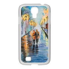 Just The Two Of Us Samsung GALAXY S4 I9500/ I9505 Case (White)
