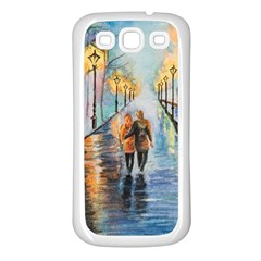 Just The Two Of Us Samsung Galaxy S3 Back Case (White)