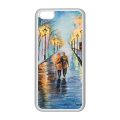 Just The Two Of Us Apple iPhone 5C Seamless Case (White)