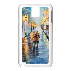 Just The Two Of Us Samsung Galaxy Note 3 N9005 Case (White)