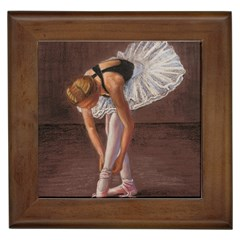 Ballerina Framed Ceramic Tile