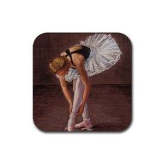 Ballerina Drink Coaster (square)