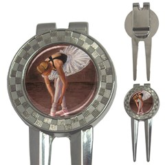Ballerina Golf Pitchfork & Ball Marker