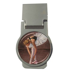 Ballerina Money Clip (Round)