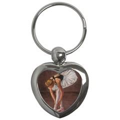 Ballerina Key Chain (Heart)