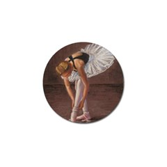 Ballerina Golf Ball Marker