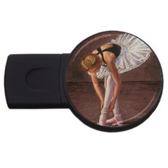 Ballerina 2gb Usb Flash Drive (round)