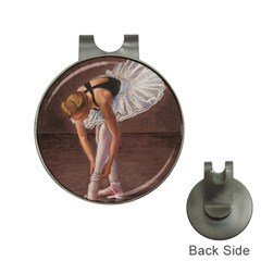 Ballerina Hat Clip with Golf Ball Marker
