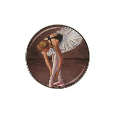 Ballerina Golf Ball Marker 4 Pack (for Hat Clip)