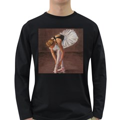Ballerina Men s Long Sleeve T-shirt (Dark Colored)