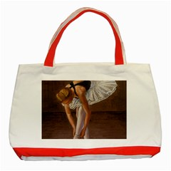 Ballerina Classic Tote Bag (Red)