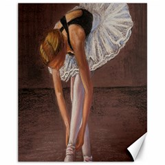 Ballerina Canvas 11  X 14  (unframed)