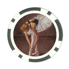 Ballerina Poker Chip