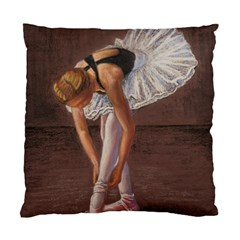 Ballerina Cushion Case (two Sided)