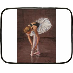 Ballerina Mini Fleece Blanket (two Sided)