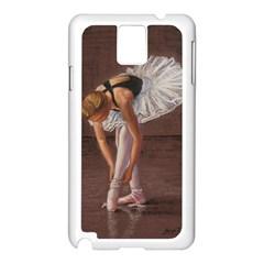 Ballerina Samsung Galaxy Note 3 N9005 Case (White)