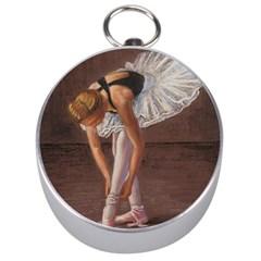 Ballerina Silver Compass