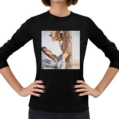 Stabat Mater Women s Long Sleeve T-shirt (Dark Colored)