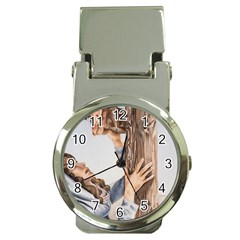 Stabat Mater Money Clip with Watch