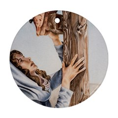 Stabat Mater Round Ornament (Two Sides)