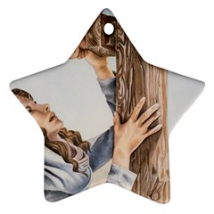 Stabat Mater Star Ornament (Two Sides)