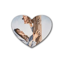 Stabat Mater Drink Coasters 4 Pack (Heart)