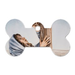Stabat Mater Dog Tag Bone (Two Sided)