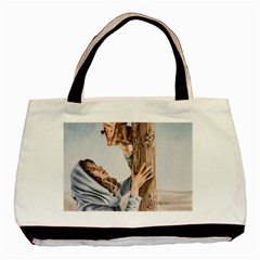 Stabat Mater Twin Sided Black Tote Bag