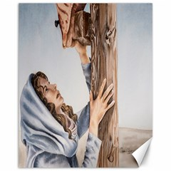 Stabat Mater Canvas 11  x 14  (Unframed)