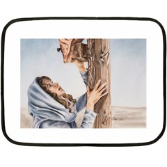Stabat Mater Mini Fleece Blanket (Two Sided)