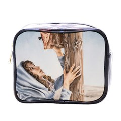 Stabat Mater Mini Travel Toiletry Bag (one Side)