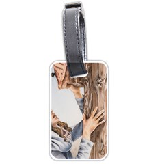 Stabat Mater Luggage Tag (two Sides)