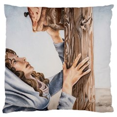 Stabat Mater Large Cushion Case (Two Sided)