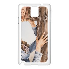 Stabat Mater Samsung Galaxy Note 3 N9005 Case (White)