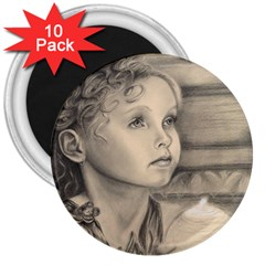 Light1 3  Button Magnet (10 Pack)