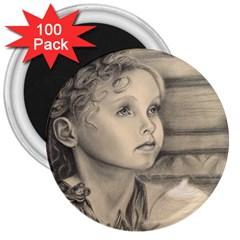 Light1 3  Button Magnet (100 pack)