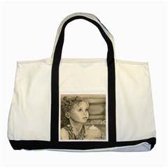 Light1 Two Toned Tote Bag