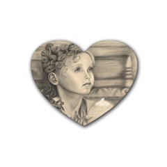 Light1 Drink Coasters 4 Pack (Heart)
