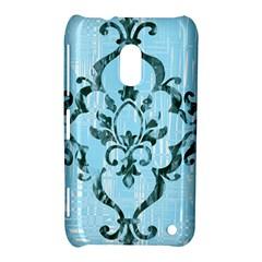 Blue Elegant Nokia Lumia 620 Hardshell Case