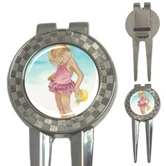 Beach Play Sm Golf Pitchfork & Ball Marker