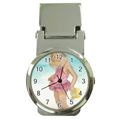 Beach Play Sm Money Clip with Watch