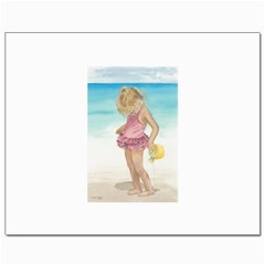 Beach Play Sm Canvas 8  x 10  (Unframed)