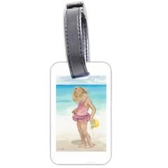 Beach Play Sm Luggage Tag (One Side)