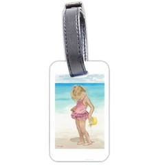 Beach Play Sm Luggage Tag (Two Sides)