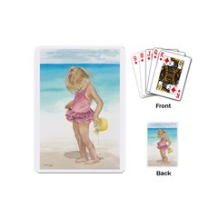 Beach Play Sm Playing Cards (Mini)