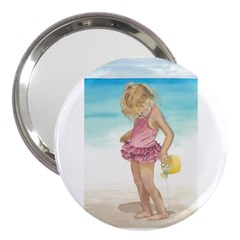 Beach Play Sm 3  Handbag Mirror