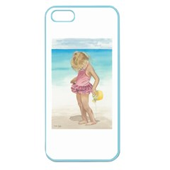 Beach Play Sm Apple Seamless iPhone 5 Case (Color)