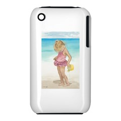 Beach Play Sm Apple iPhone 3G/3GS Hardshell Case (PC+Silicone)