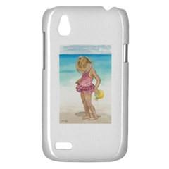 Beach Play Sm HTC Desire V (T328W) Hardshell Case